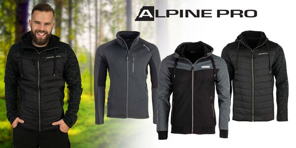 Pánsky sveter, mikina či bunda od Alpine Pro