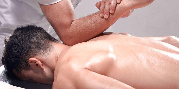 Diagnostika chrbtice + masáž na mieru