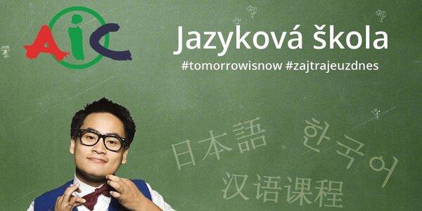 Online kurzy naživo japonského, kórejského alebo čínskeho jazyka v Asia Info Centre