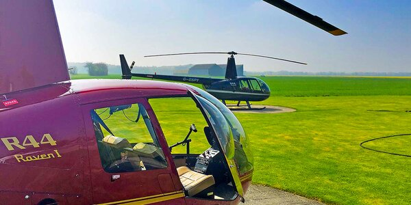 Vyhliadkový let americkým vrtuľníkom ROBINSON R44 pre 3 pasažierov