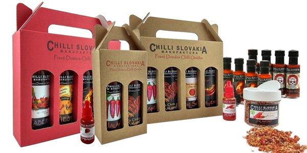 100 % prírodné chilli omáčky od Chilli Slovakia Manufaktúra