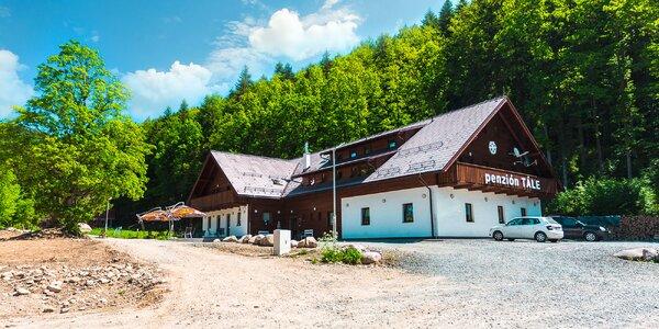 Pobyt v obľúbenom penzióne s vysokými hodnoteniami v Nízkych Tatrách