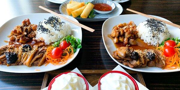 Degustačné menu japonských jedál pre 2 osoby