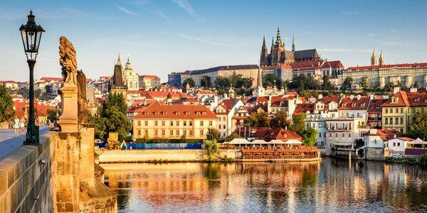 Unikátne apartmány v centre Prahy: pobyt až pre 4 osoby