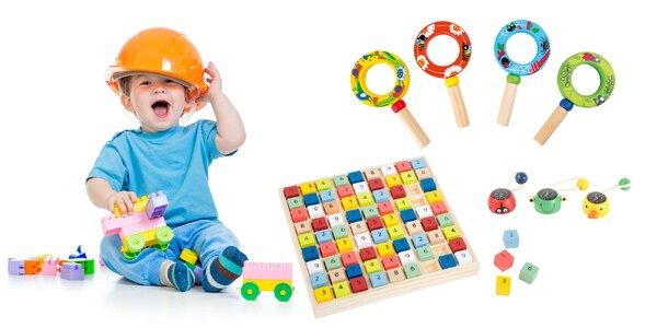 Interaktívne drevené hračky pre všetky detičky