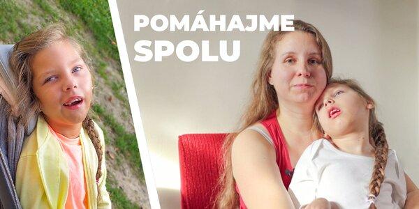 Darujte hodiny rehabilitácie Janke s detskou mozgovou obrnou