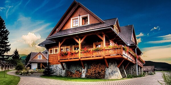 Rodinný pobyt s wellness v Nízkych Tatrách pod Čertovicou v obľúbenom penzióne Schweintaal**