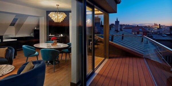 5 * hotel v centre Prahy s VIP wellness a večerou pri Karlovom moste