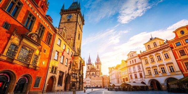 Romantický pobyt s raňajkami v centre Prahy