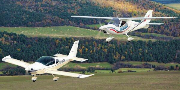 Prelet nad Košicami či Prešovom s možnosťou pilotovania