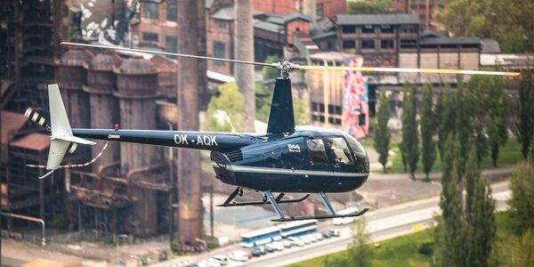 Vyhliadkový let vrtuľníkom Robinson R44