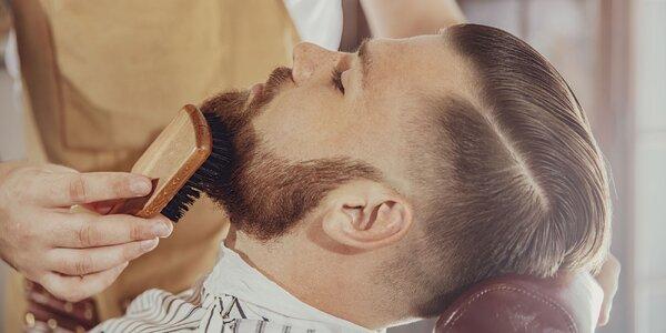 Úprava vlasov a brady od profi barberov