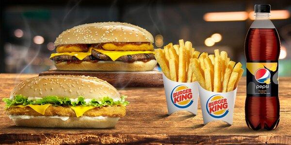 NOVINKA! Jedinečné menu v Burger King s Pepsi Mango