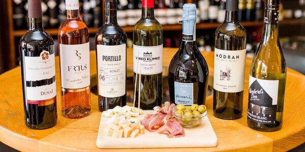 Ochutnávka 7 druhov vín so someliérom