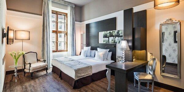 Pobyt v 5* hoteli v Brne s raňajkami a vstupom do sauny
