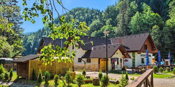 Leto v Nízkych Tatrách v Penzióne Bystrinka