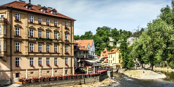 Pobyt v centre Českého Krumlova priamo pri Vltave