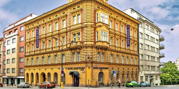 Romantika v centre Prahy: wellness pobyt v 4* hoteli