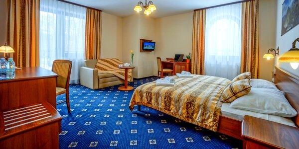 Bohatý wellness pobyt v poľských Tatrách