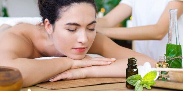 Liečivý relax na mätovej či peelingovej masáži