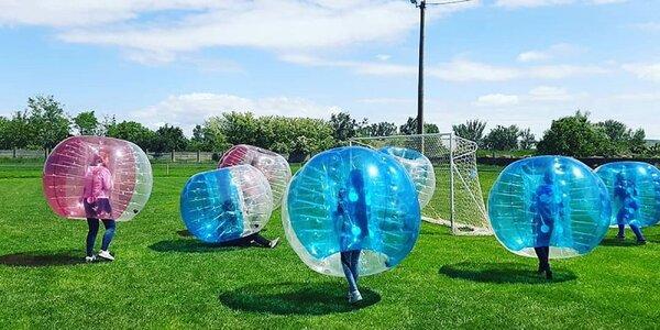 Zahrajte si skvelý adrenalínový bubble futbal!