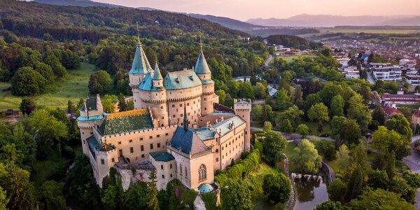 Objavte Bojnice, mesto detských výletov