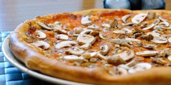 Pizza podľa vášho výberu: donáška v cene voucheru