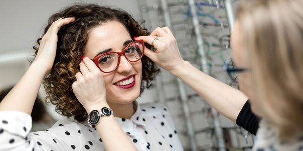 Vyšetrenie očným lekárom + zľava na sklá a slnečné okuliare