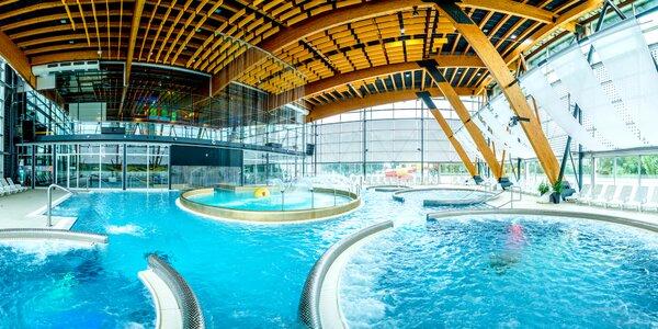 Relax v hoteli pri rezorte AquaCity s neobmedzeným aquaparkom