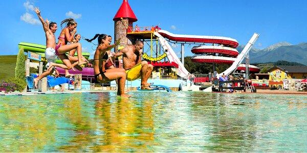 Dovolenka v Nízkych Tatrách aj s celodenným Aquaparkom Tatralandia alebo Bešeňová