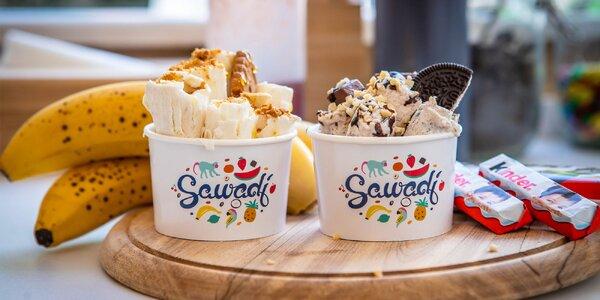 Ochutnajte jedinečnú thajskú rolovanú zmrzlinu!