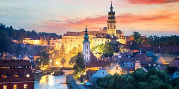 Romantický pobyt v Českom Krumlove s raňajkami