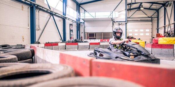 Adrenalínová jazda na motokáre pre každého!