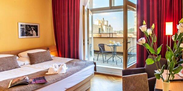 Romantika v centre Prahy: 4* hotel, chutná strava i wellness