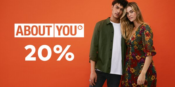 20% zľava do módneho e-shopu About You