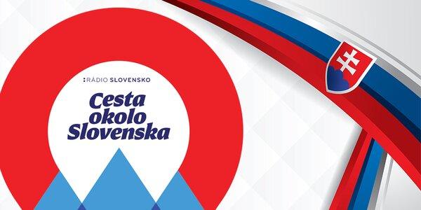 Veľká letná SÚŤAŽ Cesta okolo Slovenska