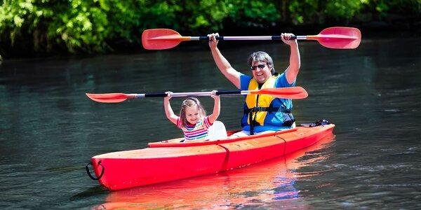 Splav dolného toku Hrona na kanoe alebo rafte