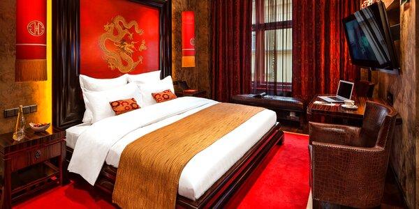 Jedinečný pobyt v Buddha-Bar hoteli v centre Prahy