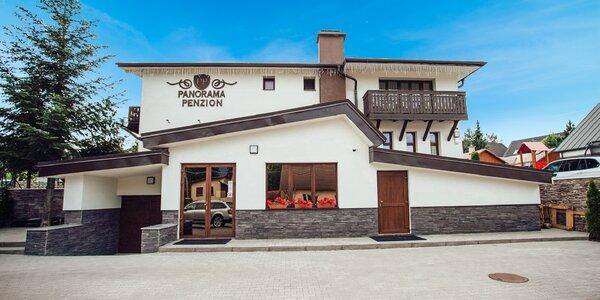 Nový penzión v Nízkych Tatrách s vyhrievaným vonkajším bazénom a wellness