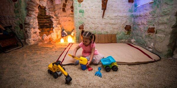 Leto v soľnej jaskyni: privátne vstupy pre páry aj rodiny