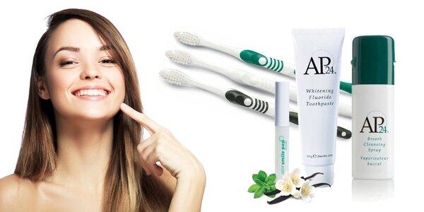 Nádherný a zdravý úsmev s balíčkom produktov AP-24 NuSkin
