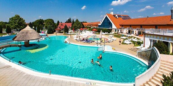 Pobyt v maďarských kúpeľoch Kehida Termál až pre 6 osôb: neobmedzený wellness a polpenzia
