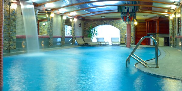 Relax v Hrabovskej doline s wellness a bazénom