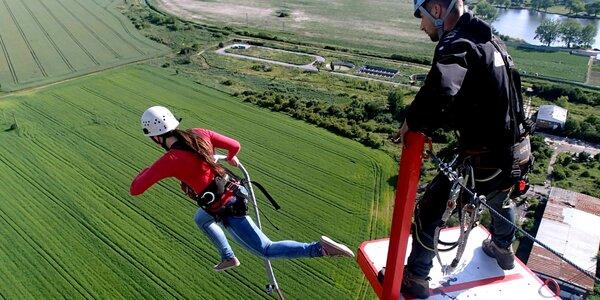 Zoskok zo 110 metrovej veže ACTION TOWER pre 1 či 2 osoby