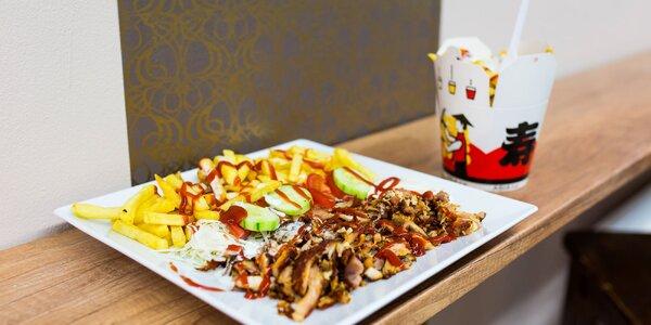 Kurací kebab box alebo Royal döner na tanieri