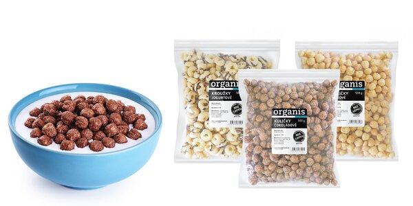 Bezlepkové chrumky: jogurt, karamel, čokoláda či med