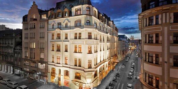 Luxusný hotel pri Václavskom námestí: pobyt s raňajkami