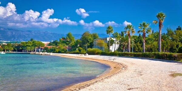 Obľúbené letovisko Pag: ubytovanie iba 40 m od pláže