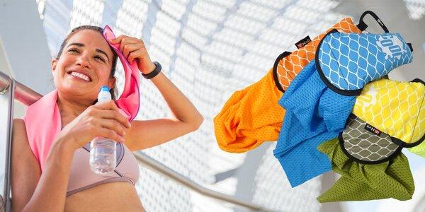 Cestovná chladiaca šatka proti letným horúčavám