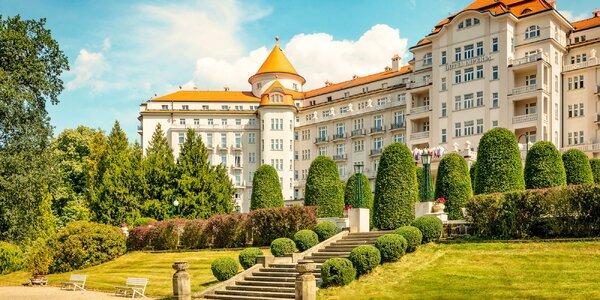 5* Imperial v Karlových Varoch: strava, wellness, procedúry